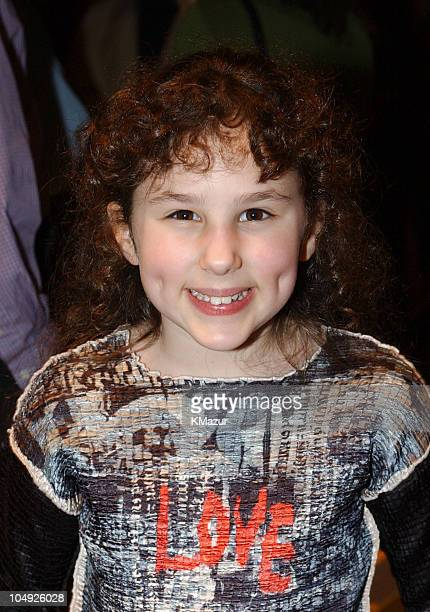 Hallie Kate Eisenberg during The Rookie New York City Premiere at Astor Plaza Theatre in New York City New York United States