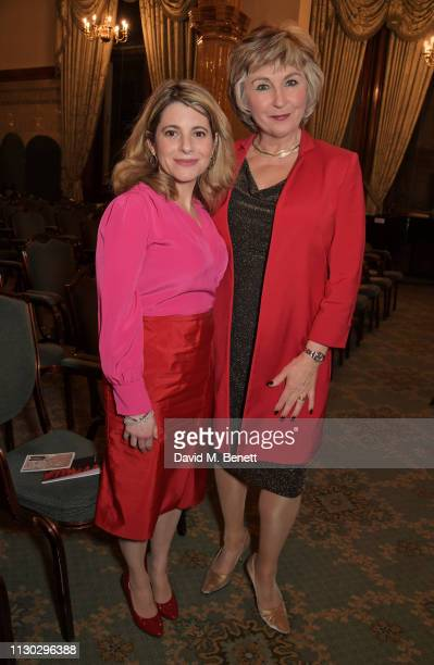 Hallie Rubenhold and Lesley Garrett attend a panel discussion on the lives of the women killed by Jack the Ripper in collaboration with charity...