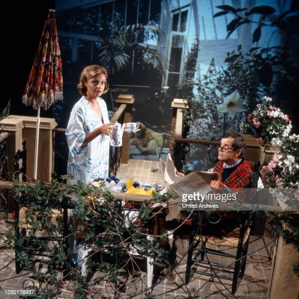 Hallo Peter, Unterhaltungsshow, Deutschland 1981, Mitwirkende: Nadja Tiller, Walter Giller.