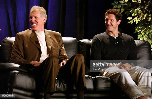 Hall-of-famer Bill Walton and his son Nate participate in the Family of Sport Symposium celebrating Martin Luther King, Jr. Day on January 17, 2005...