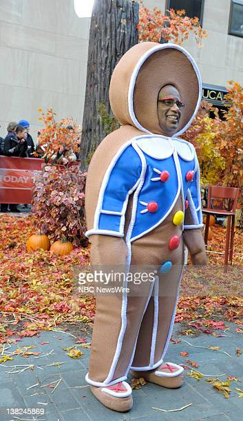 """Halloween -- Air Date -- Pictured: Al Roker -- NBC New's """"Today"""" co-hosts celebrate Halloween on the plaza"""