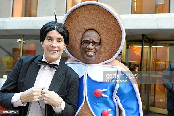 TODAY Halloween Air Date Pictured Jill Rappaport Al Roker NBC New's 'Today' cohosts celebrate Halloween on the plaza