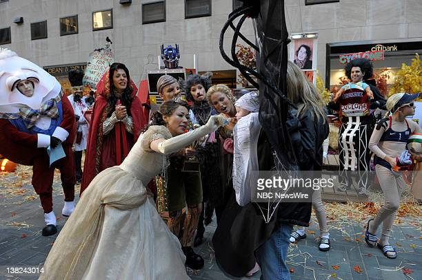 TODAY Halloween Air Date Pictured Matt Lauer Hoda Kotb Ann Curry The winning Halloween Costume NBC New's Today cohosts celebrate Halloween on the...