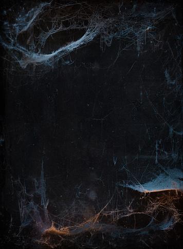 Halloween background with cobweb 1020519526