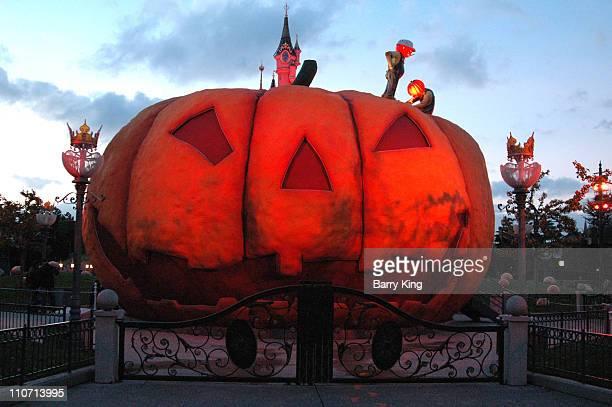 Halloween Celebration at Disneyland Paris in Paris, France on October 31, 2006