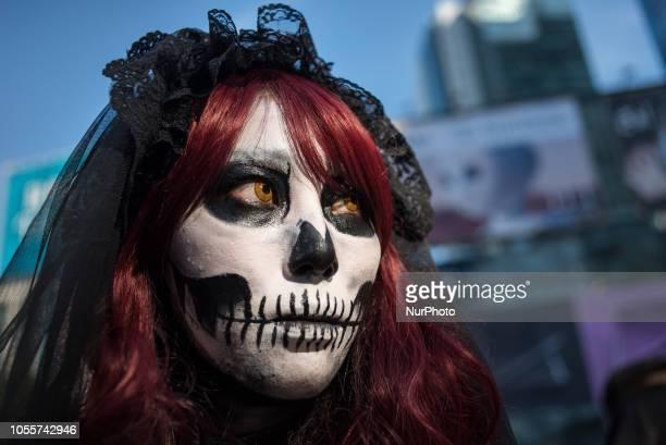 Halloween celebration in Shibuya district Tokyo Japan on October 31 2018