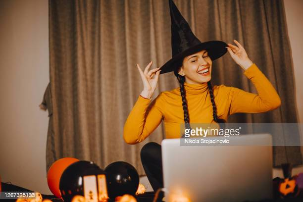 halloween celebration - fancy dress costume stock pictures, royalty-free photos & images