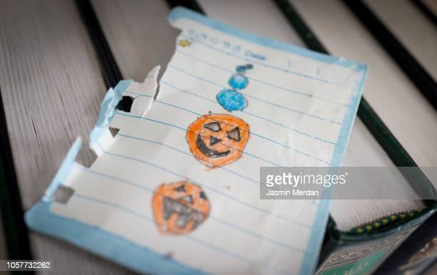 Halloween drawing bad pumpkin