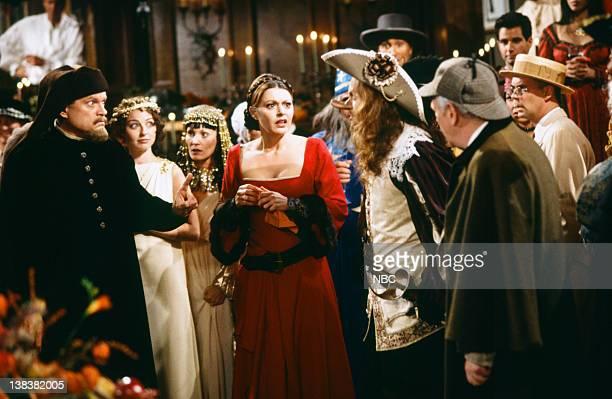FRASIER Halloween Episode 3 Pictured Kelsey Grammer as Doctor Frasier Crane Jane Leeves as Daphne Moon David Hyde Pierce as Doctor Niles Crane John...