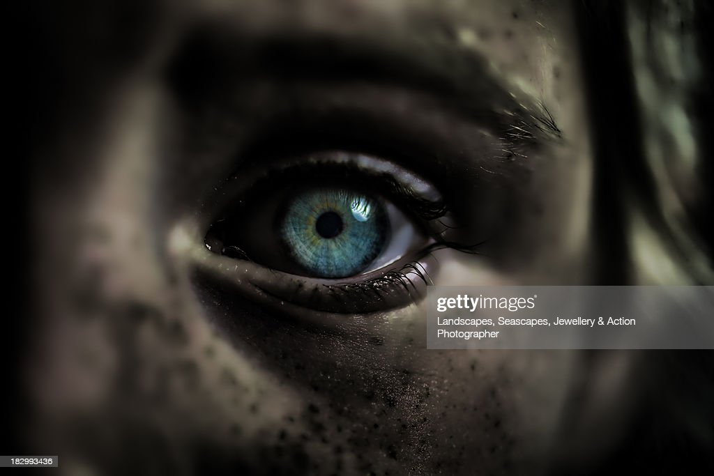 Halloween Eye : Stock Photo