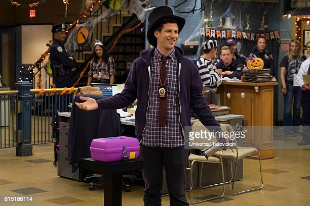 NINE 'Halloween IV' Episode 405 Pictured Andy Samberg as Jake Peralta