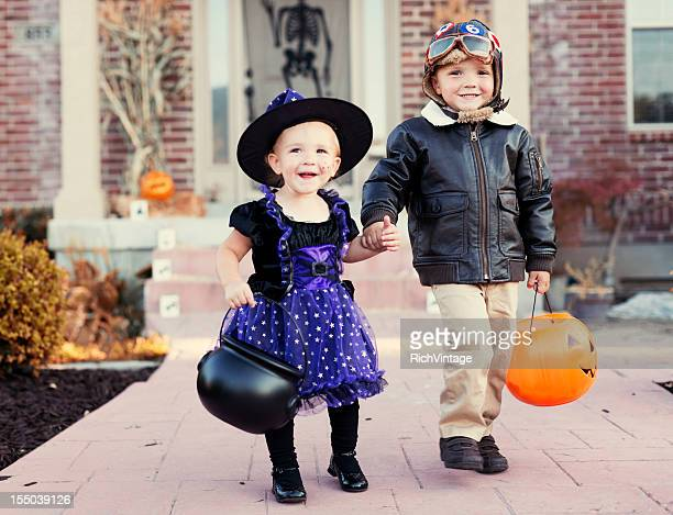 halloween kids - halloween kids stock photos and pictures