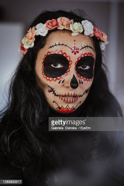 halloween make up - human skeleton stock pictures, royalty-free photos & images