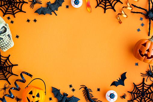 Halloween party border 1047657134