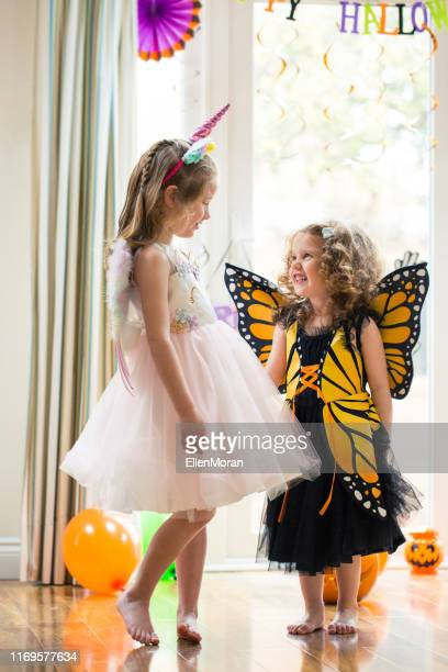 halloween party - costume stock pictures, royalty-free photos & images