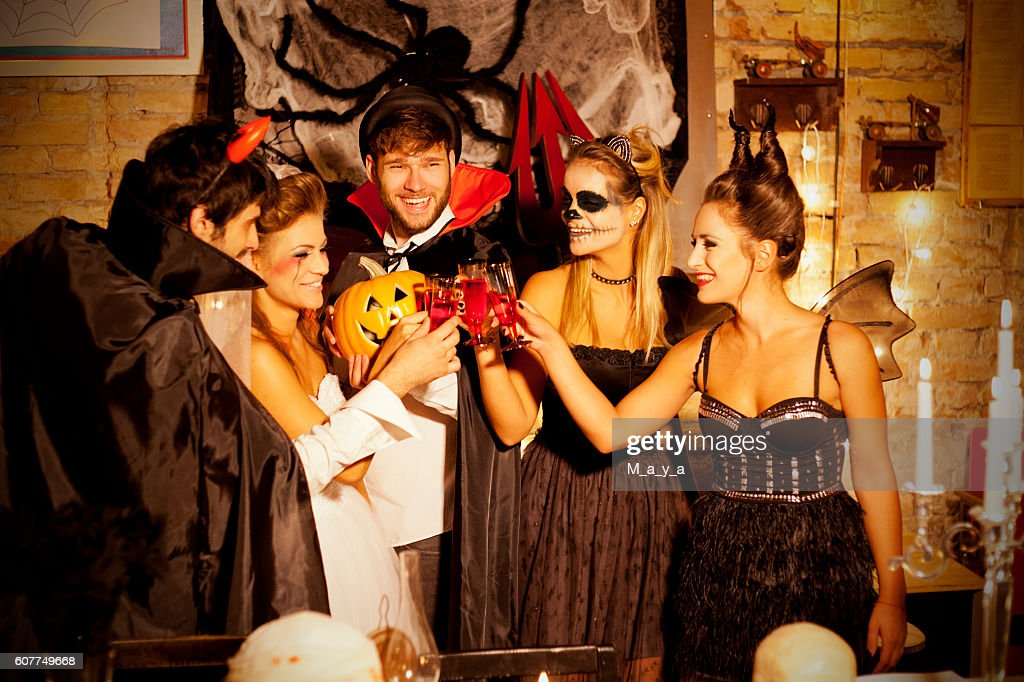 Halloween party : Stock Photo