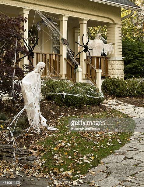 halloween - halloween decoration stock pictures, royalty-free photos & images