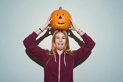 Halloween portrait - gettyimageskorea