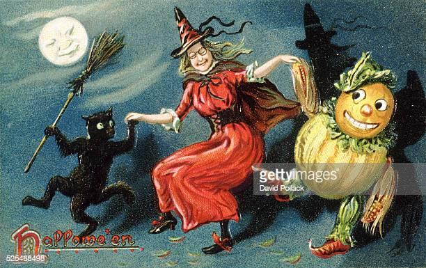 Hallowe'en Postcard