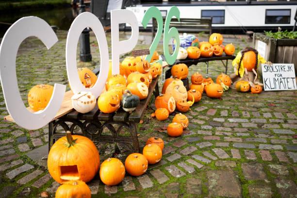 GBR: Hebden Bridge Pumpkin Festival Highlights Climate Change