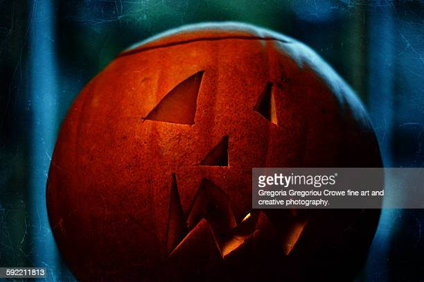halloween pumpkin - gregoria gregoriou crowe fine art and creative photography. stockfoto's en -beelden