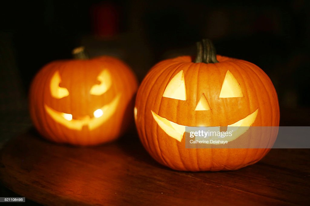 Halloween pumpkins : Stock Photo