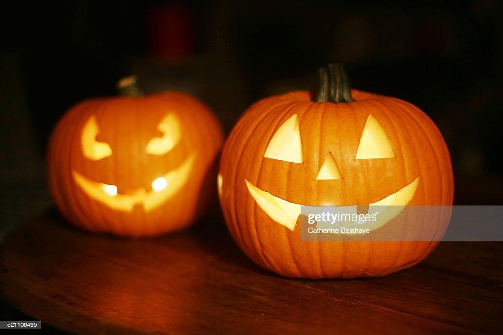 Halloween pumpkins : Foto stock