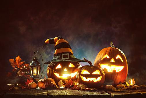 Halloween Pumpkins 808369484