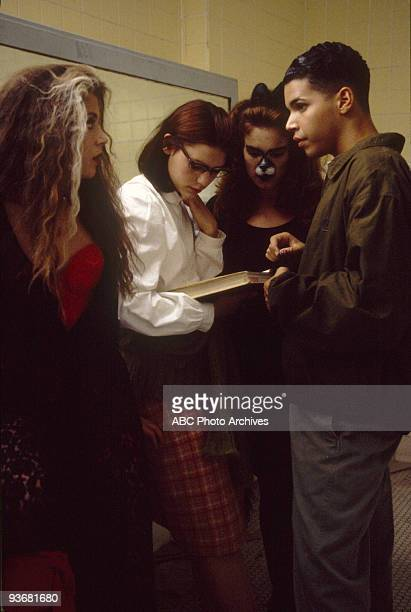 LIFE 'Halloween' Season One 10/27/94 Angela found herself in 1963 during a mystical Halloween experience A J Langer and Wilson Cruz also stars