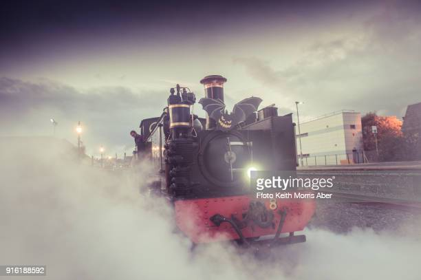 Halloween special steam train