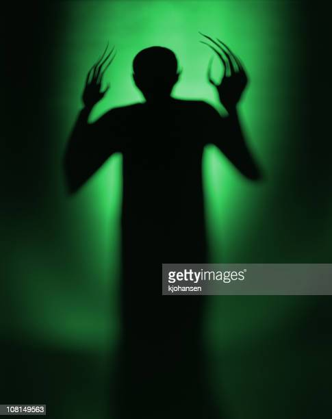 halloween spooky green alien vampire - monster fictional character stock pictures, royalty-free photos & images