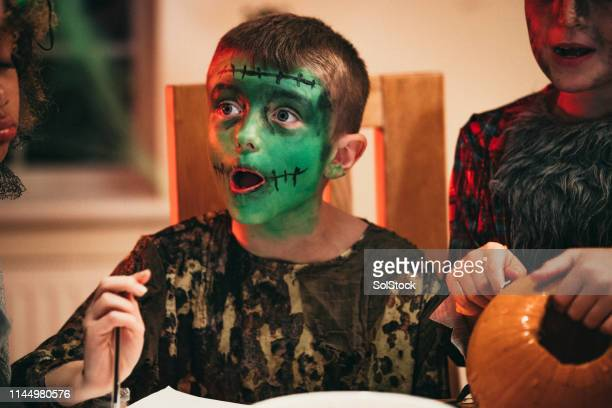 halloween surprise - frankenstein stock pictures, royalty-free photos & images