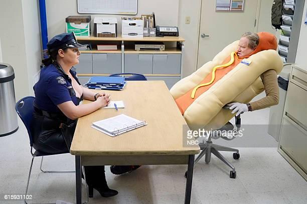 SUPERSTORE 'Halloween Theft' Episode 207 Pictured Lauren Ash as Dina Mark McKinney as Glenn