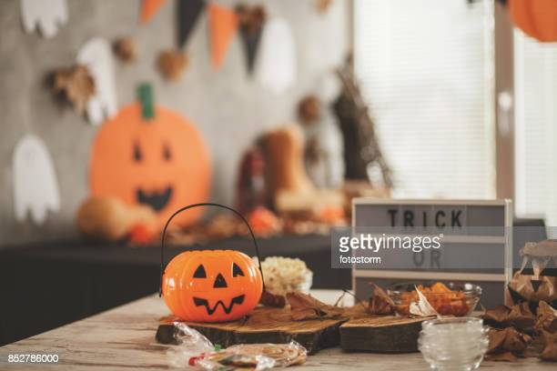 halloween theme - halloween party stock photos and pictures