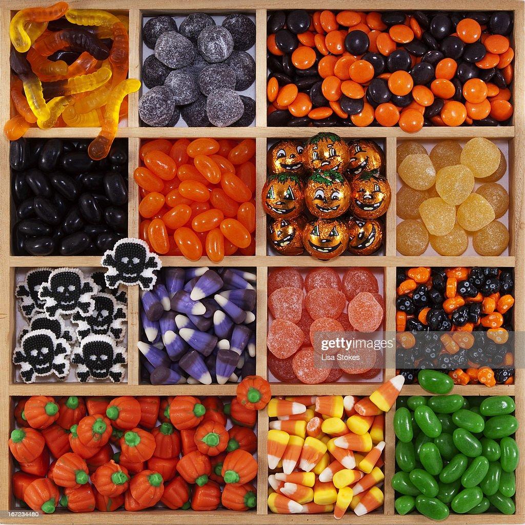 Halloween Tray : Stock Photo