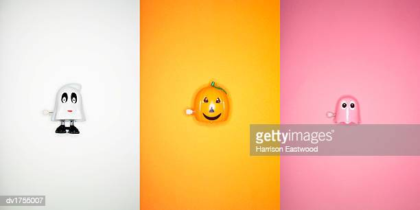 halloween wind up toys - wind up toy stock photos and pictures