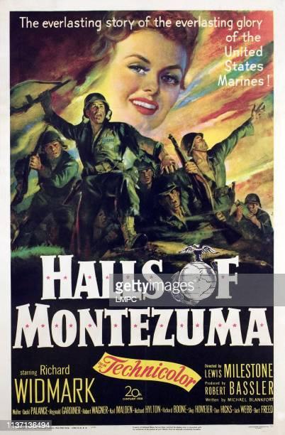 Halls Of Montezuma poster Marion Marshall 1950