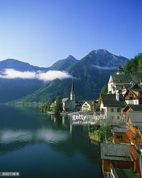 Hallstatt at Lake Hallstatter