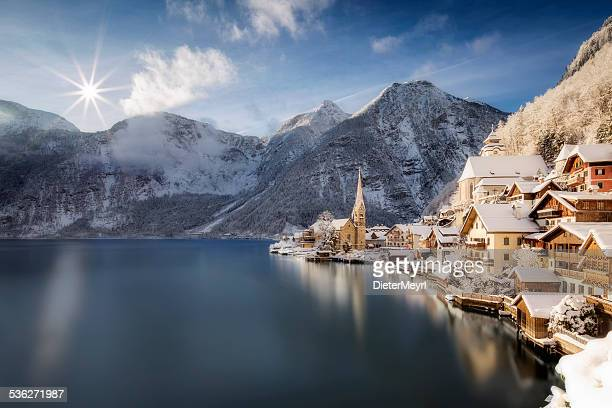 hallstatt, austria - austria stock pictures, royalty-free photos & images
