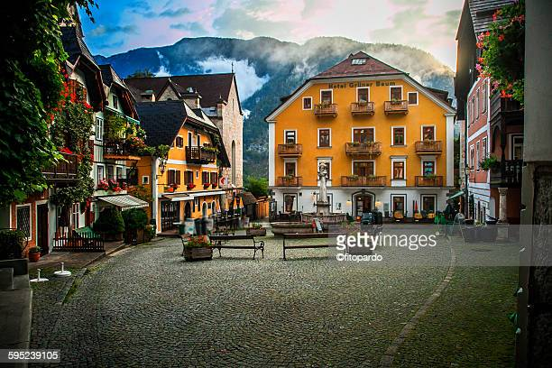 Hallstatt central plaza