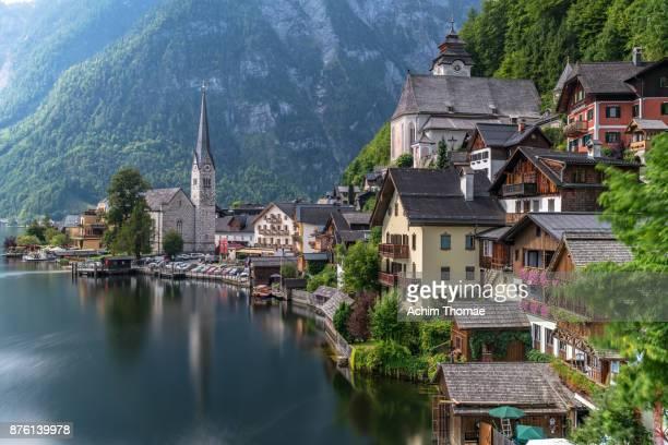 Hallstatt, Lakeview - Lake Hallstatt, Austria