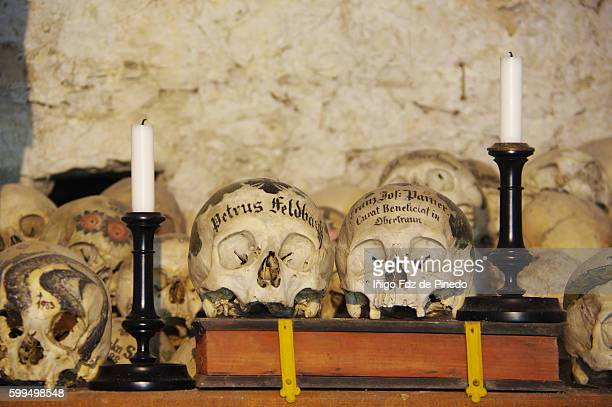 Hallstatt ossuary- Salzkammergut- Hallstatt- Austria