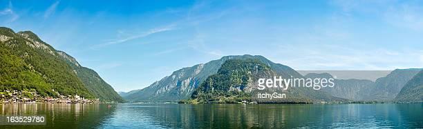 Hallstatt Stadt und den See