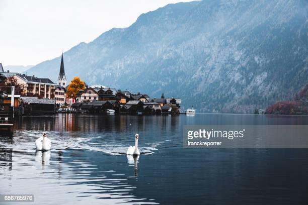 Hallstatt village in Österreich