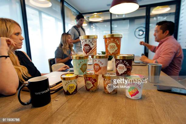 Halo Top has become one of the nation's best selling pints of ice cream without its own manufacturing plant without a headquarters and without their...