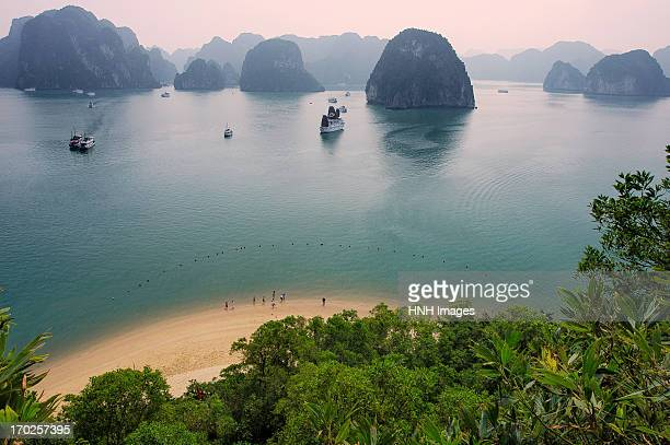 HaLong bay in the early morning.