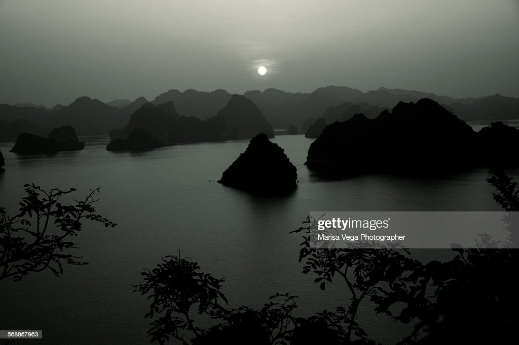Halong Bay, UNESCO World Heritage Site : Stock Photo