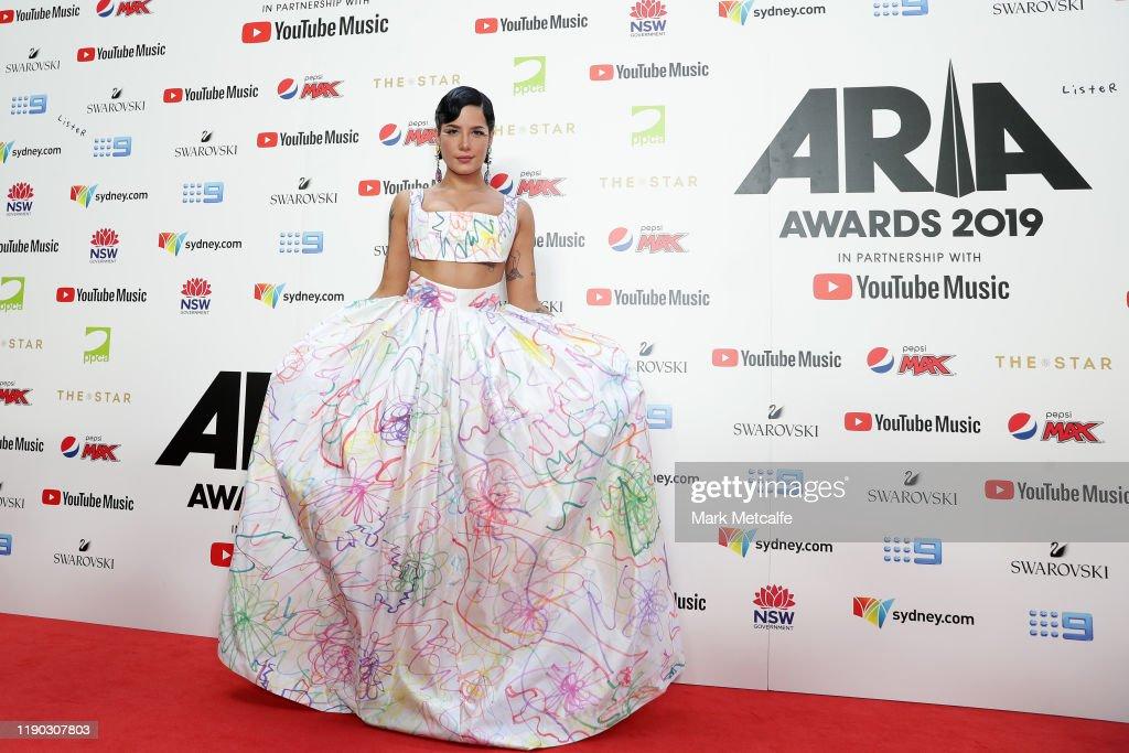 33rd Annual ARIA Awards 2019 - Arrivals : News Photo