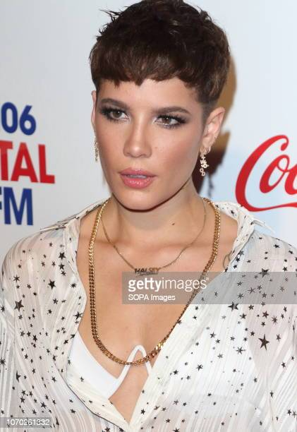 Halsey at the Capital Jingle Bell Ball with CocaCola on Day one at The O2 in Peninsula Square
