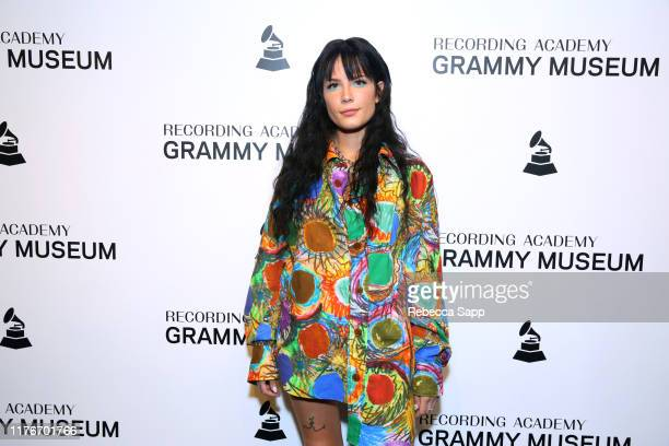 Halsey attends An Evening With Halsey at the GRAMMY Museum on September 23, 2019 in Los Angeles, California.